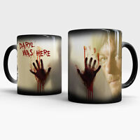 Walking Dead Daril Dyxon Mug Color changing coffee mug Zombie cup Heat Sensitive
