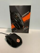 SteelSeries Rival 500 MMO/MOBA 15-Button Programmable Gaming Mouse - 16000 CPI