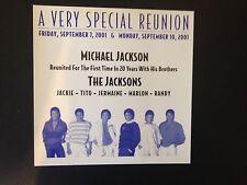 Michael Jackson 30th Anniversary Invitation - Super Rare!!!