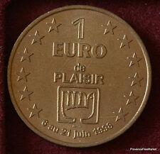 PLAISIR 1 EURO TEMPORAIRE DES VILLES 1998 FDC 1082A50