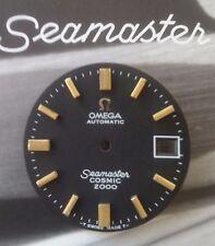 ESFERA O DIAL OMEGA SEAMASTER COSMIC 2000,CAL 1012,NUEVA DE STOCK RESTAURADA.