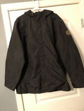 Timberland  Jacket Size M Black Hooded RN 36543