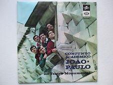 CONJUNTO ACADEMICO JOAO PAULO - NO TEATRO MONUMENTAL LP 1966 PORTUGAL POKORA 3**
