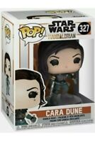 Rare Funko Pop Star Wars The Mandalorian Cara Dune Figure 327 Brand New