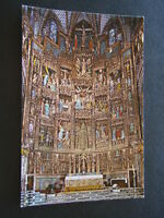 TOLEDO CATHEDRAL RETABLE OF THE HIGH ALTAR POSTCARD