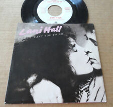 """DISQUE 45T PROMO DE LANI HALL  """" I DON'T WANT YOU TO GO """""""