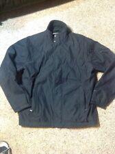 WOOLRICH Mens Black Soft Shell Fleece Lined Jacket Outerwear XL Full Zip