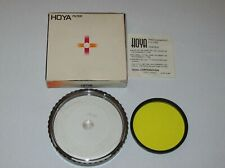 OLD NEW STOCK HOYA  58MM YK2 YELLOW  SCREW IN FILTER WITH CASE AND BOX