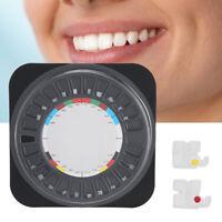 Dental Oral Teeth Orthodontic Ceramic Bracket Ceramic Roth 0.22 Wheel Box