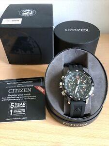 Citizen BN4044-15E Promaster Altichron Eco-Drive Black Strap Watch