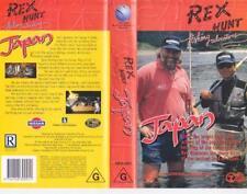 REX HUNT JAPAN  FISHING  VIDEO PAL~ A RARE FIND