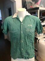 Vintage Bowling shirt 1950's 60's Dick Smith Erwin's garage Mishawaka Indiana 25