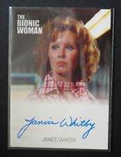 SIX MILLION DOLLAR MAN/BIONIC WOMAN JANICE WHITBY AS KATY AUTOGRAPH CARD