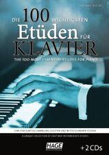 HAGE Kölbl: Die 100 wichtigsten Etüden für Klavier + 2 CDs! NEU! (EH 3790)