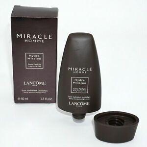 Lancome Miracle Homme Hydra Mission Daily Moisturizing Lotion 50mL [NIB Sealed]