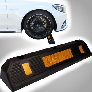 PETEX PREMIUM Garagenstopper mit Reflektor Auto Parken Radstopper Abstandhalter
