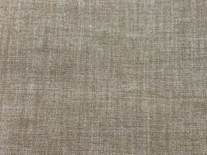 1 1/2 Yards Of Vintage Taupe Solid Print Cotton Blend Fabric