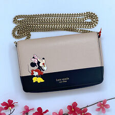 NWT Kate Spade New York x Minnie Mouse Chain Wallet Crossbody Bag PWRU7480