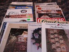 Lot 17 Cross Stitch Booklets & Magazines,Christmas Theme,Graphworks,Burdett, Folk