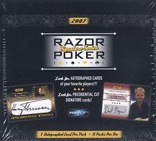 2007 Razor Poker Signature Series Box