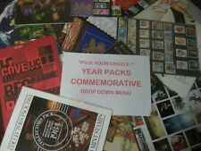 More details for pick your choice!  collectors year pack 1967 till 2011 yearpack -drop down menu