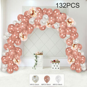 61/132pcs Balloon Arch Kit Balloons Garland Birthday Wedding Party Baby Shower