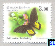 Sri Lanka Stamps 2018, Wild Animals, Butterfly, Definitive, MNH