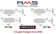 1240/50 - 2 CP Pastiglie Freno Anteriori RMS per SUZUKI V-Strom 1000 dal 2002