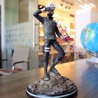 Naruto Hatak Hatake Kakashi Painted PVC Action Figure Statue Toy 32cm New in Box