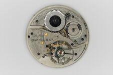 Waltham Grade 209 Pocket Watch Movement 12S 9J Model Parts/Repair SN#29102472
