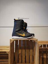 Nike Kaiju Gold / Black snowboard boots US 13