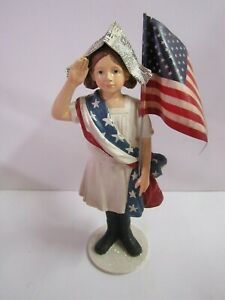 Bethany Lowe Stars And Stripes Girl CP9175 New 4th Of July
