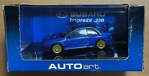 AUTOART 58601 - SUBARU IMPREZA 22B - 1/43 DIE CAST
