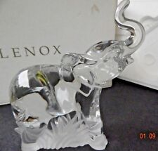 Lenox Crystal Elephant #1 ~ Made in German ~ #063289 ~ Standing