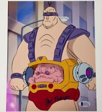 PAT FRALEY signed Krang 8x10 Photo * BAS COA * Teenage Mutant Ninja Turtles TMNT