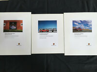 PORSCHE OFFICIAL 911 996 CARRERA POSTER SET OF THREE 2003 SMALL EDITION