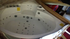 Whirlpool Eckbadewanne Badewanne Wanne Pool Thermostat Heizung Acryl Weiss