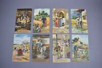 Antique Our Father Prayer Lord's Prayer Postcards Set of 8