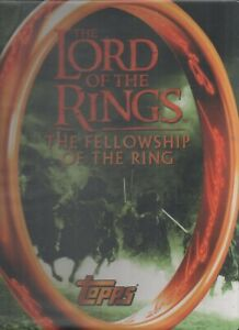 Lord of the Rings UK Binder/Album plus Exclusive set of 20 Trading Cards