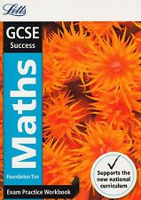 Letts GCSE Success Maths Foundation Tier Exam Practice Workbook NEW P/B 2015