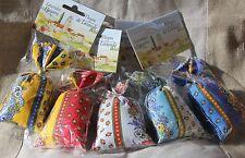 2xLavendelsäckchen aus der Provence,klassisches Blumen Stoffmuster,Savon du Midi