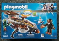 Playmobil 9408 Super 4 Sykronian Space Glider with Gene new and sealed 51 pcs