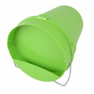 5.5 LITRES - Plastic Bucket Drinker - EASY TO USE - (Poultry, Chicks, Hatching)