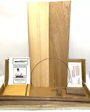 MusicMaker's Kits Mountain Dulcimer 4 String Instrument Harp Kit NOS Northwoods