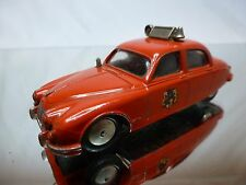 CORGI TOYS 214S JAGUAR 2.4 LITRE - FIRE BRIGADE - RED 1:43 -  GOOD