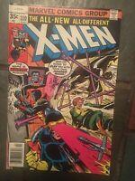 Uncanny X-Men #110, VF- 7.5, Cyclops, Wolverine, Storm, Phoenix
