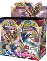 SWORD AND SHIELD BASE SET BOOSTER BOX POKEMON TCG NEW & SEALED 36 Packs