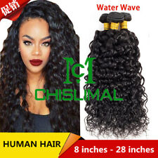 Brazilian Real Human Hair Wave 100g Straight Body Deep Water Kinky 8-28inch