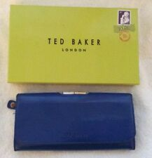 Large Ted Baker Royal Blue Leather Purse