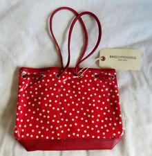 Bagsinprogress Leather hand bag dot red NWT